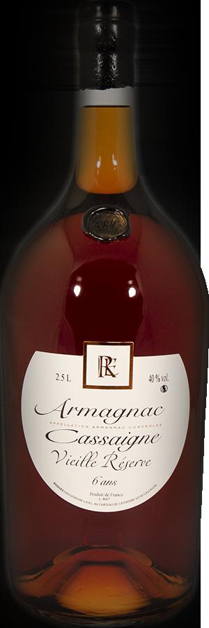 Armagnac Vieille Réserve 2.5L