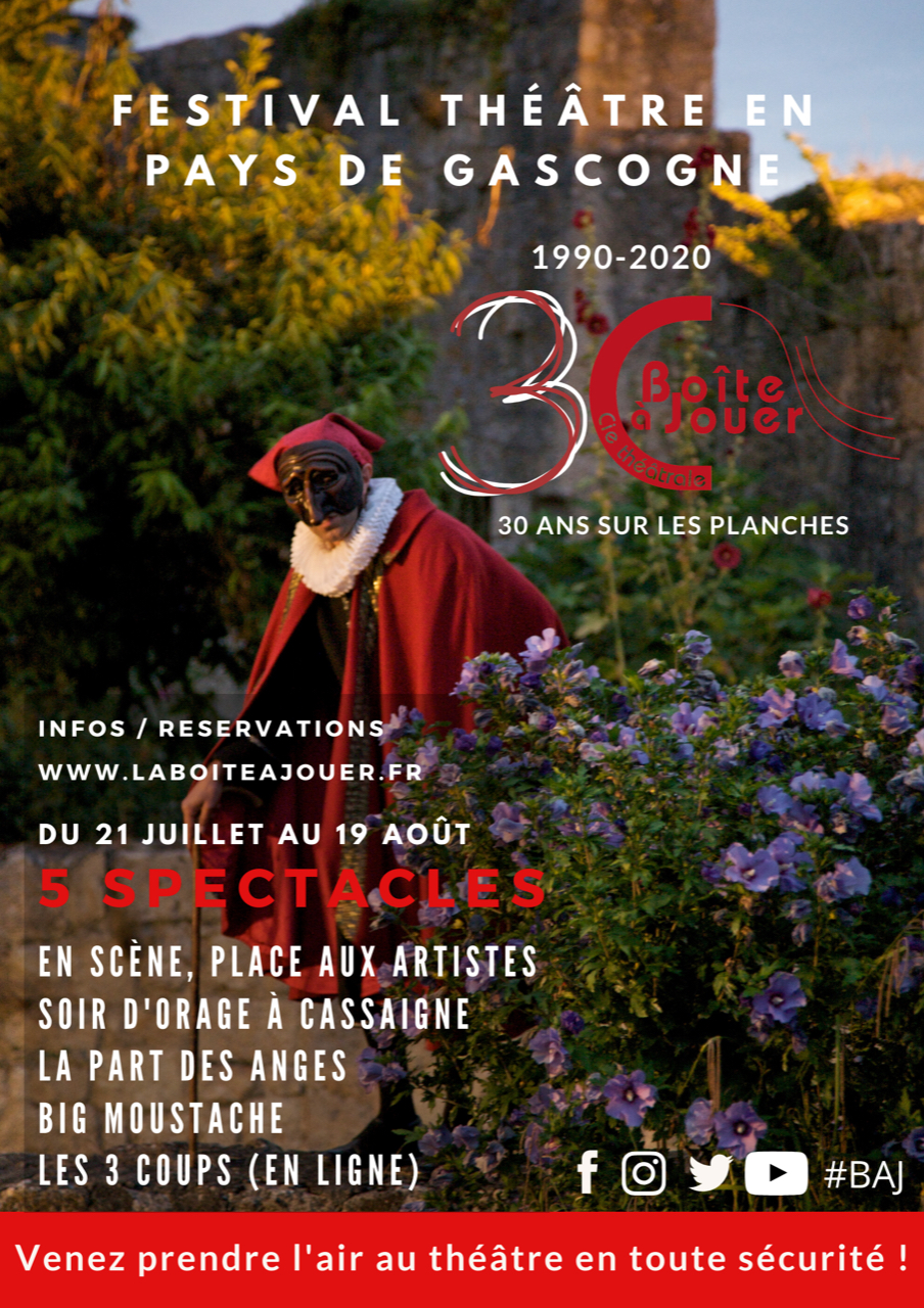 Soir d'orage à Cassaigne, spectacle de La Boite à Jouer